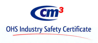 CM3 OHS/WHS Industry Safety Certificate Logo