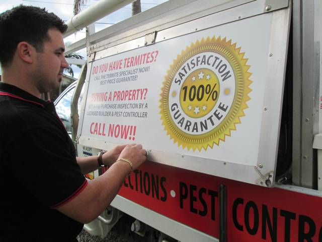 100% customer satisfaction guarantee on all pest control job in Meadowbank