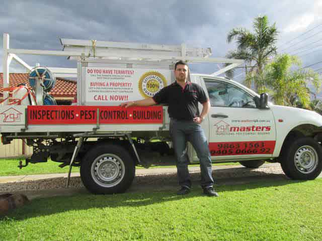 Pest control in Hills District